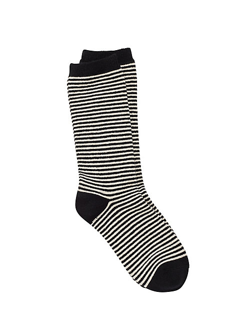 Cozy Viscose Blend Pinstripe Sock