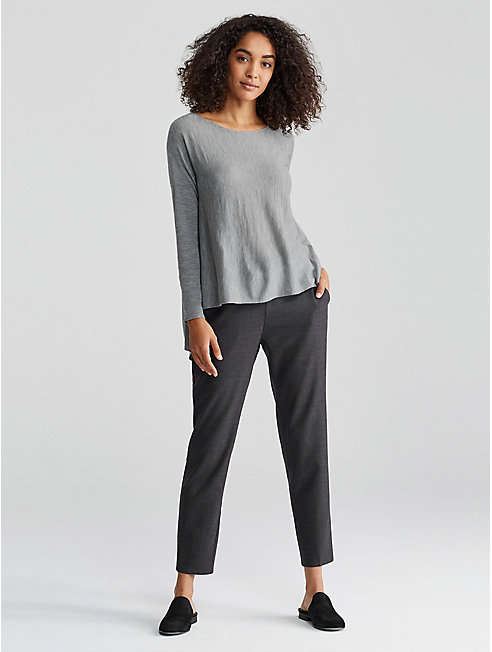 Seamless Featherweight Luxe Merino High-Low Top
