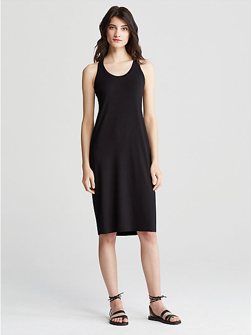 Tencel Jersey Racer-Back Dress