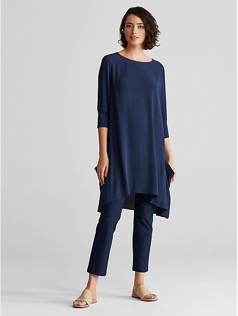 Bluesign® Certified Silk A-Line Dress
