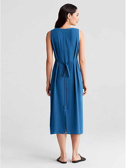 Bluesign® Certified Silk Column Dress
