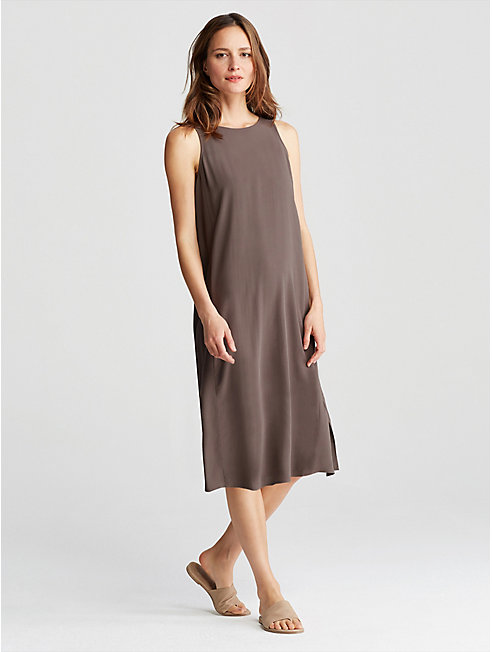 Bluesign® Certified Silk A-Line Dress