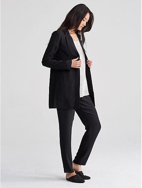 Silk Georgette Kimono Jacket