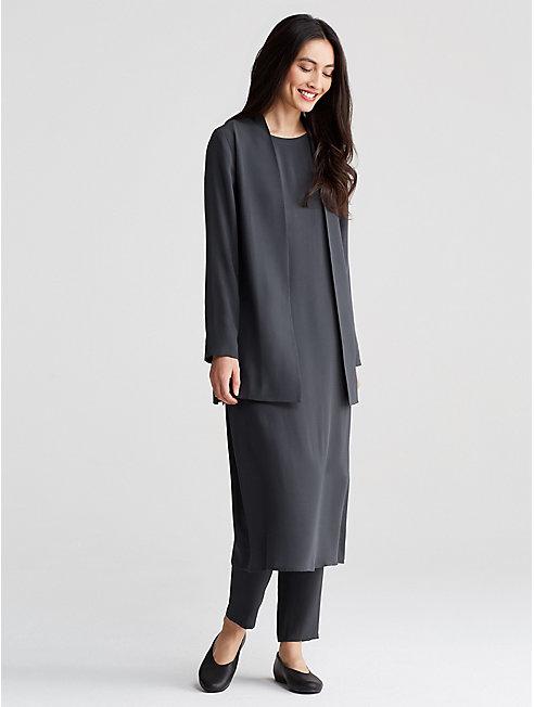Bluesign® Certified Silk Kimono Jacket