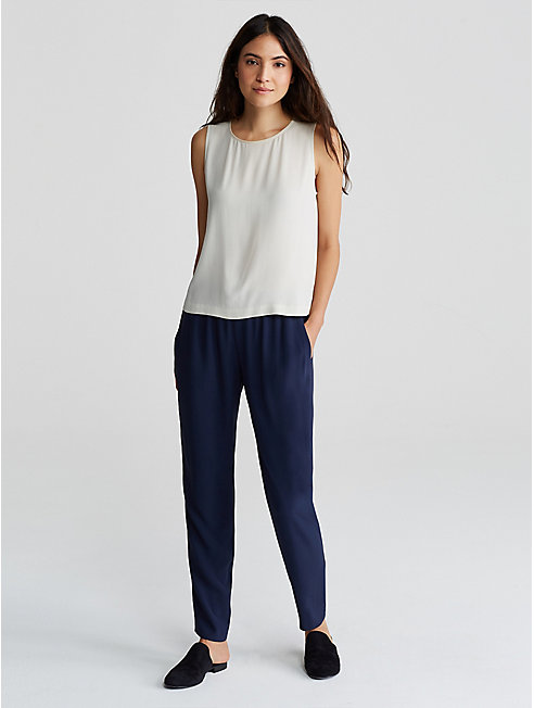 Bluesign® Certified Silk Slouchy Pant