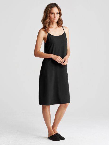 9145062758 Slip Dress in Tencel Viscose Crepe