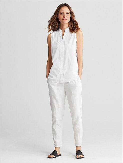 Organic Cotton Gauze Slouchy Pant
