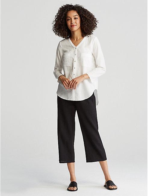 Organic Cotton Gauze Shirt