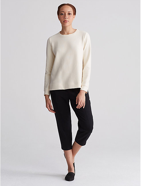 Organic Cotton Recycled Polyester Top