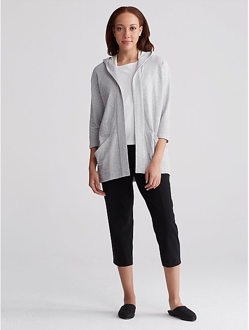 Heathered Organic Cotton Jacket
