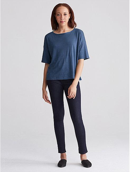 Organic Linen Jersey Box-Top
