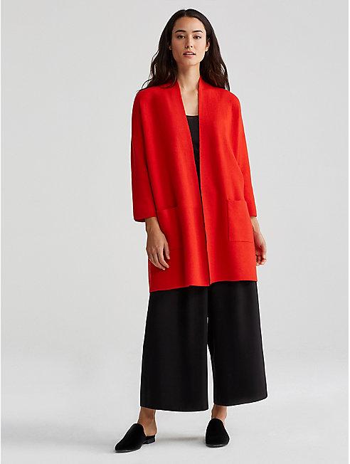Merino Organic Cotton Cashmere Kimono Cardigan