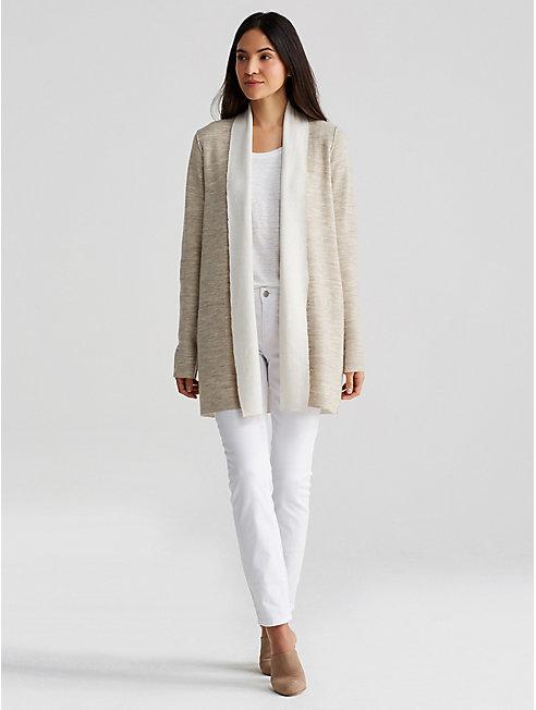 Merino and Organic Cotton Cashmere Cardigan