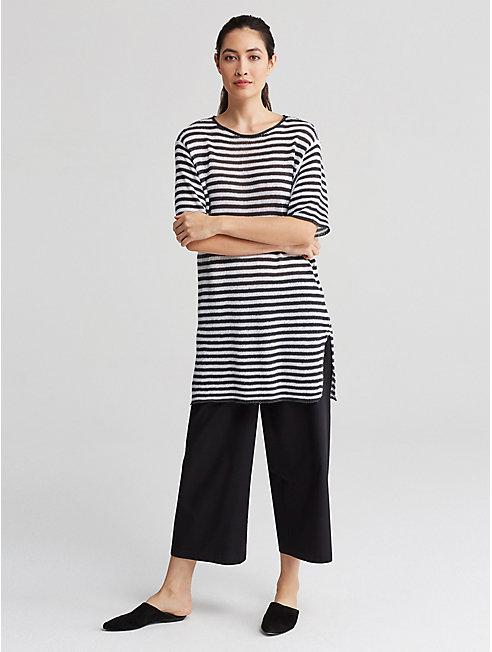 Organic Cotton Wide-Leg Pant