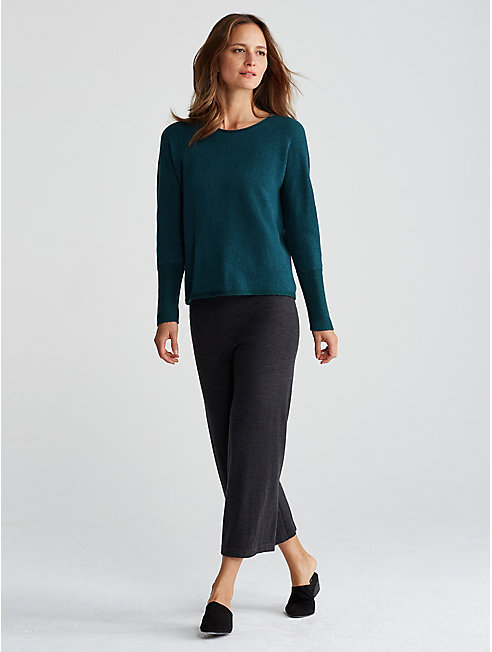 Exclusive Recycled Cashmere Box-Top