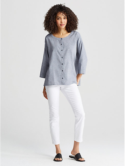 Linen Organic Cotton Shirt