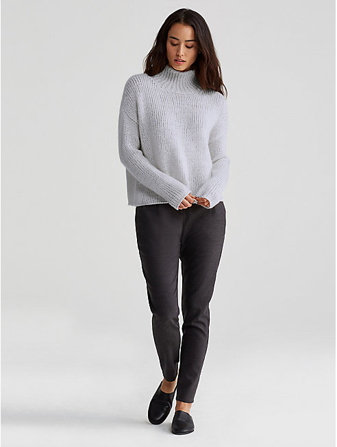Silk Cashmere Cloud Box-Top