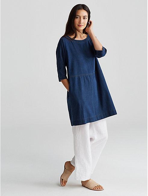 Tencel Organic Cotton Layering Dress