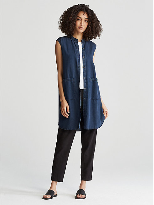 Tencel Organic Cotton Denim Shirtdress