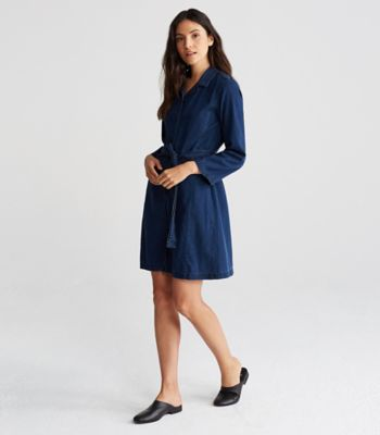 Tencel Organic Cotton Denim Shirt Dress
