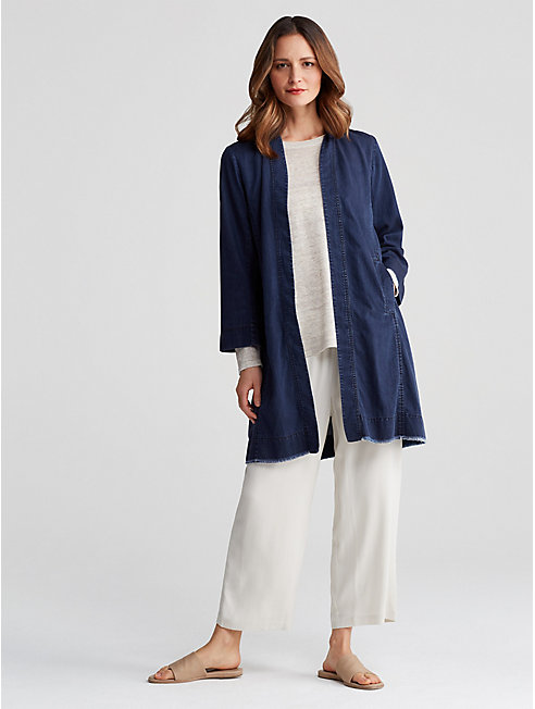 Tencel Organic Cotton Denim Jacket