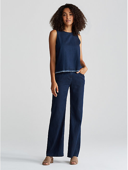 Tencel Organic Cotton Wide-Leg Jean