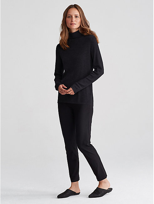 Ultrafine Merino Rib Turtleneck