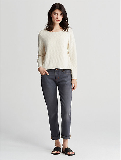 Organic Cotton Nubble Top
