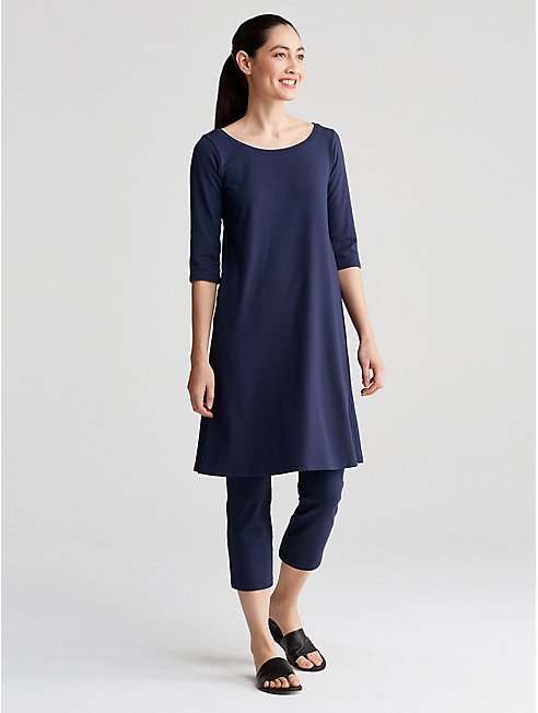 Organic Cotton Jersey T-Shirt Dress