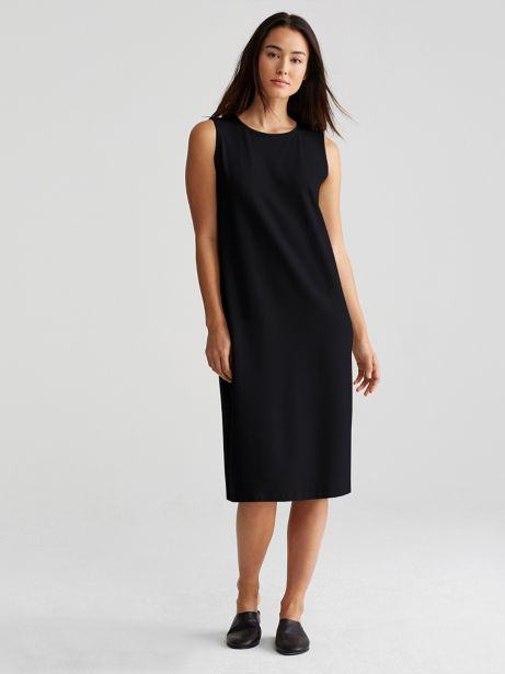 Jersey Shift Dress Eileen Fisher Classic Sale Prices UpkMqM2H2