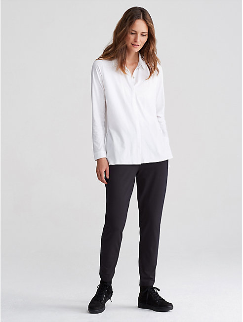 Organic Cotton Jersey Easy Pant