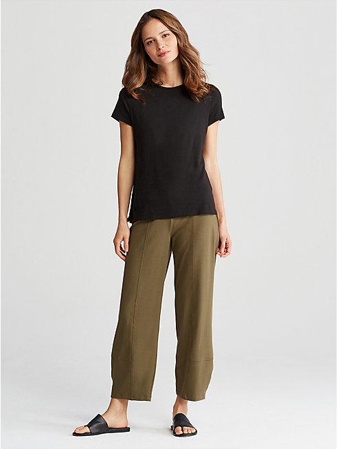 Organic Cotton Jersey Lantern Pant
