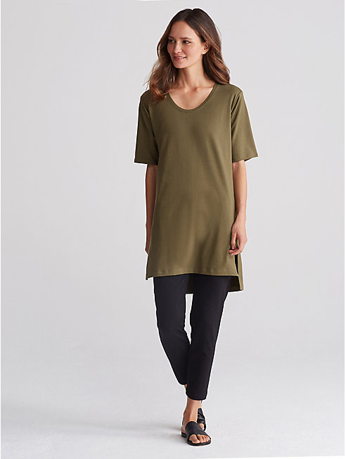Organic Cotton Jersey Tunic