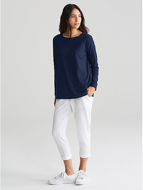 Organic Cotton Stretch Jersey Top