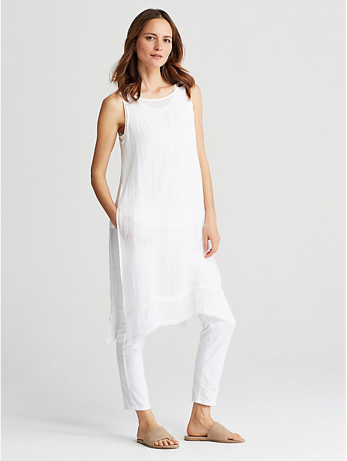 Organic Linen Gauze Tunic