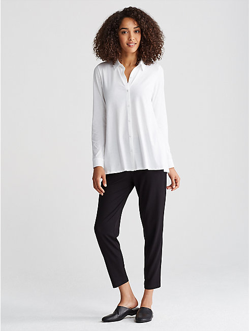 Organic Cotton Jersey A-Line Shirt