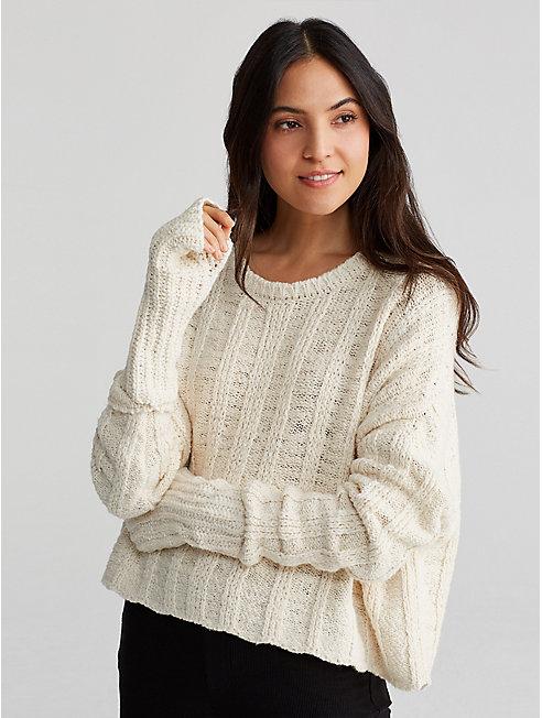 Handknit Peruvian Organic Cotton Glovelettes
