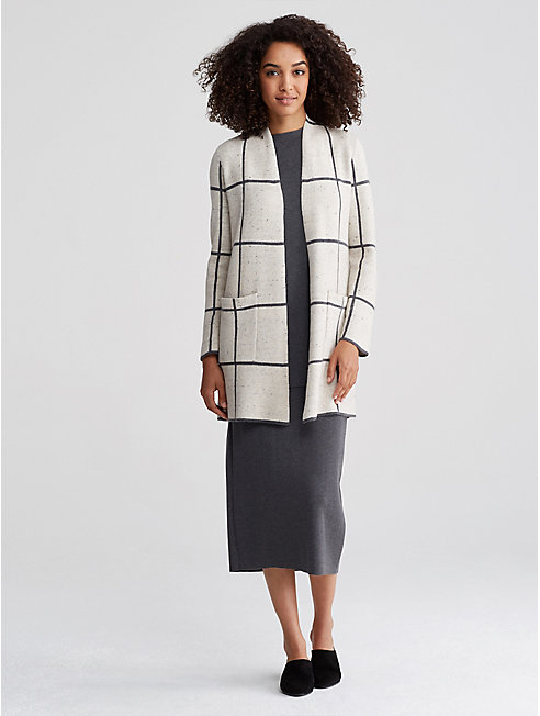 Organic Cotton Wool Kimono Cardigan