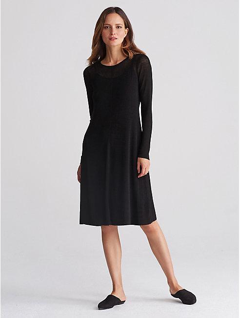 Organic Linen Rib Dress