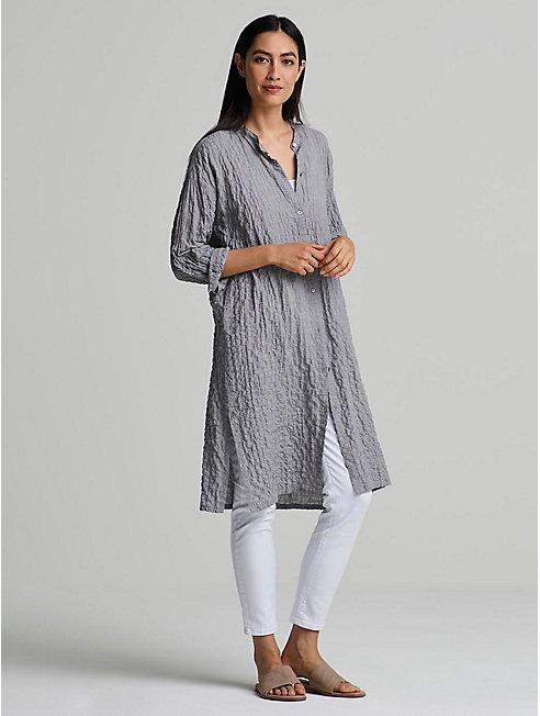 Organic Cotton Tencel Long Shirt