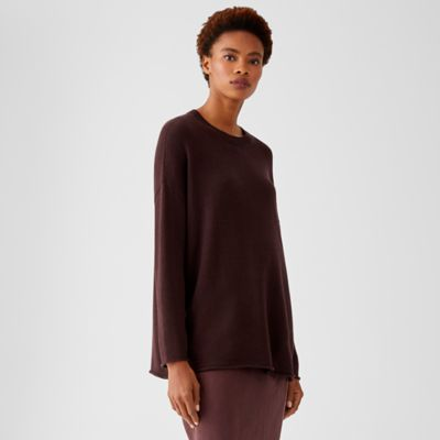 Peruvian Organic Cotton Blend Crew Neck Tunic