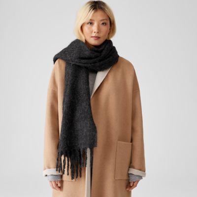 Brushed Alpaca Wool Scarf