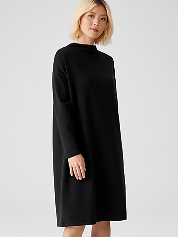 Cozy Brushed Terry Dress