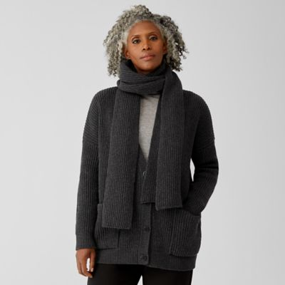 Recycled Cashmere Wool Scarf