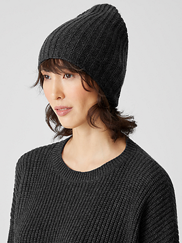 Recycled Cashmere Wool Hat