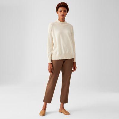 Organic Cotton Twill Slim Pant