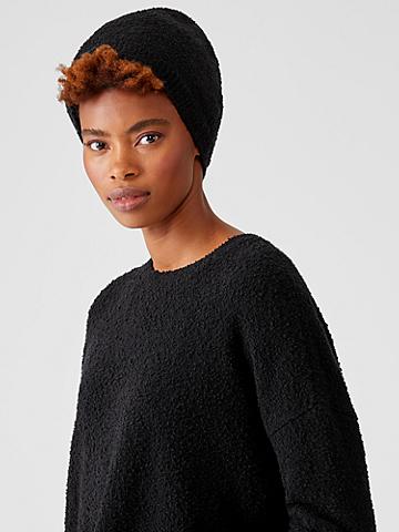 Organic Cotton Boucle Hat