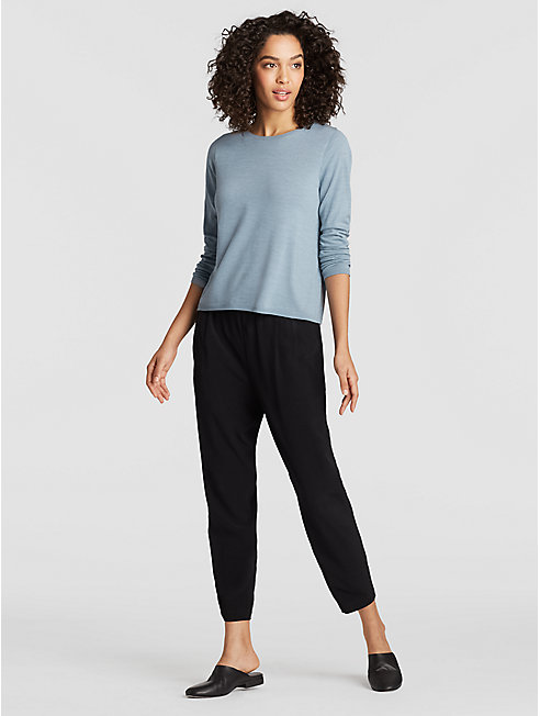 Seamless Featherweight Luxe Merino Slim Top