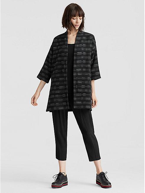 Organic Cotton Wool Kimono Jacket