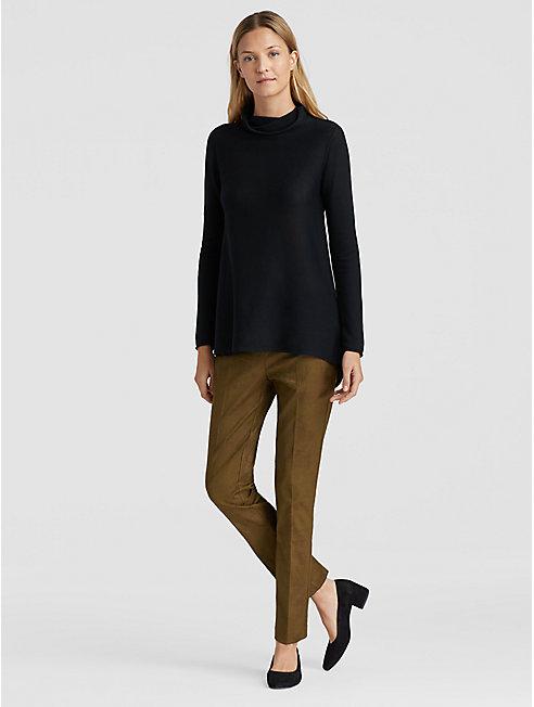 Fresco Organic Cotton Blend Slim Trouser